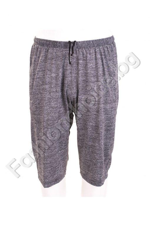 Изчистени мъжки 3/4 панталони в два цвята /големи размери/