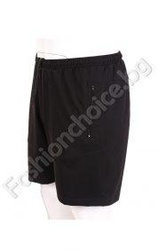 Изчистени мъжки къси панталони в големи размери