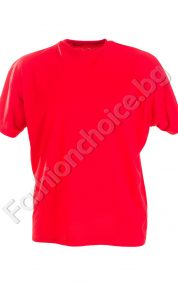 Памучна мъжка тениска в четири летни десена /голям размер/