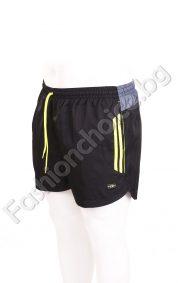 Голям размер къси панталони тип плувни с джобчета