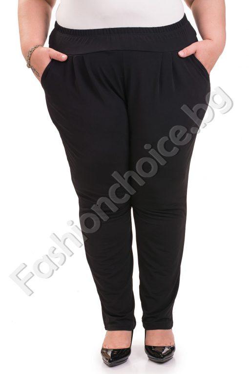 Дълъг макси панталон за топлите летни дни /3XL, 4XL, 5XL,6XL/