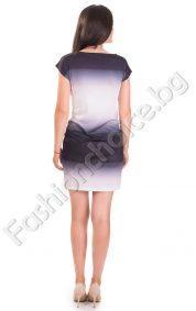 Свежа дамска рокля на сърца за лятото