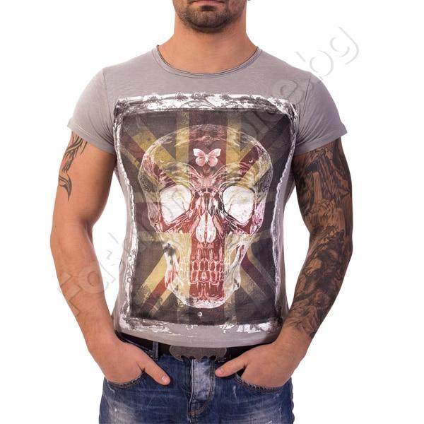 Мъжка тениска с щампа Код 216