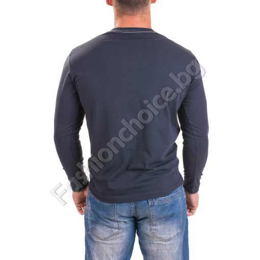 Класическа мъжка блуза за есента в четири цвята