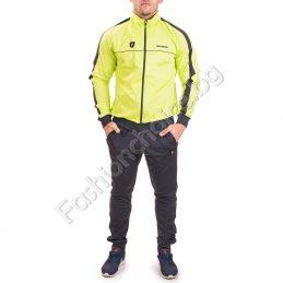 Модерен спортен мъжки комплект в два свежи десена