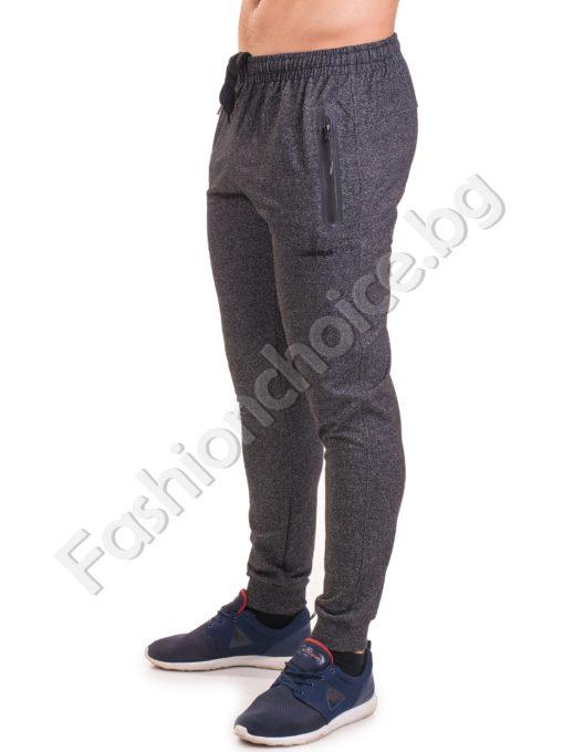 Българско мъжко долнище в два цвята, спортен модел