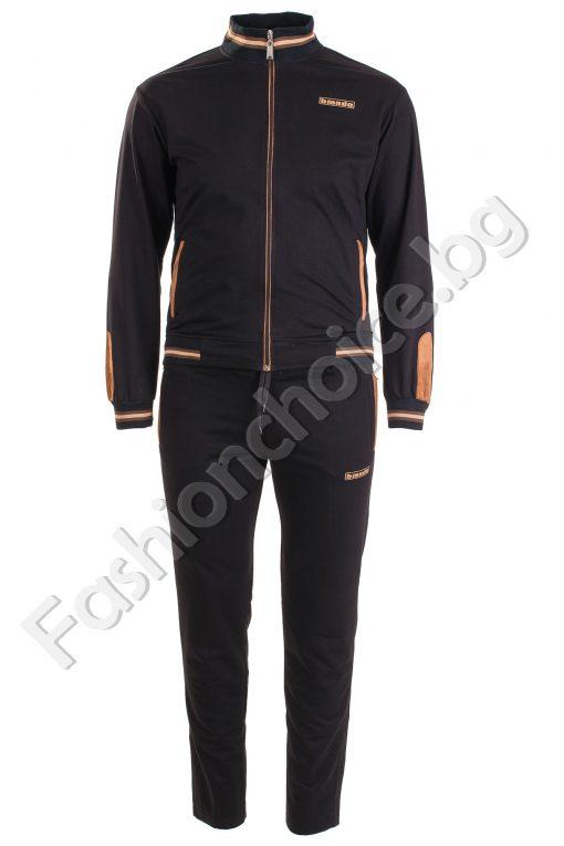 Български мъжки спортен комплект в два цвята /макси размери/