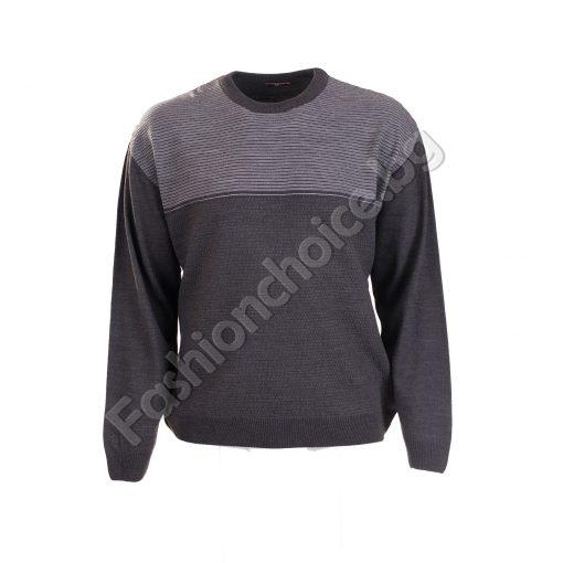 Мъжки вълнен макси пуловер в актуални зимни цветовеМъжки вълнен макси пуловер в актуални зимни цветове