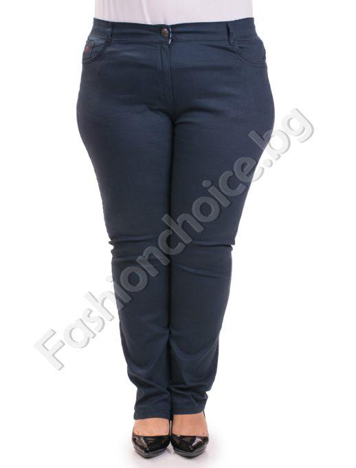 Практичен панталон, макси размер в два десена