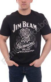 Интересна мъжка блуза с надпис JIM BEAM