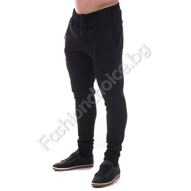 Спортен модел мъжко долнище с джобчета