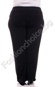 Елегантен изчистен дамски панталон/макси размери/
