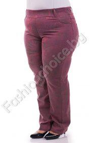 Цветни дамски макси дънки в актуален пролетен десен