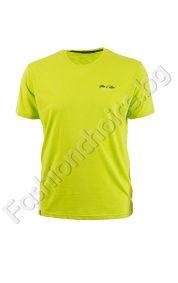 Изчистена мъжка макси блуза в модерни летни цветове