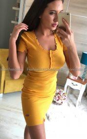 Модерна дамска рокличка за лятото в свежи десени