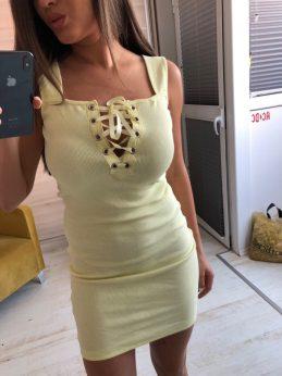Лятна рокля за секси визия в четири цвята