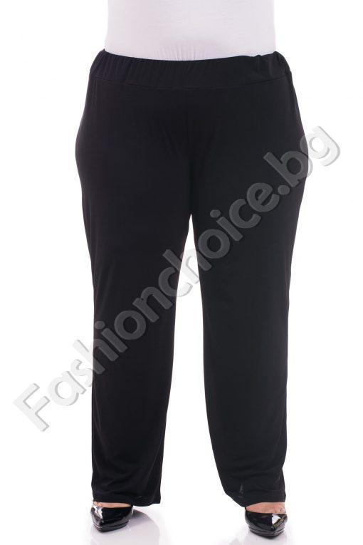 Елегантен тънък летен макси панталон /62-64-66/