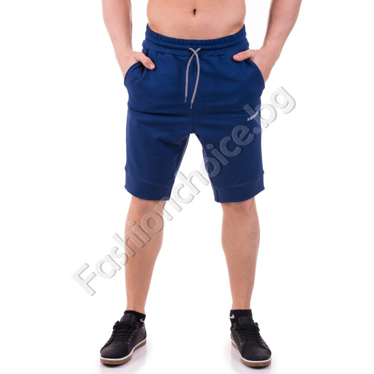 Мъжки панталонки от памучна материя в четири десена