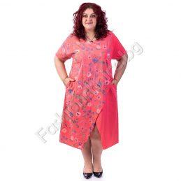 Фантастична лятна дамска макси рокля на цветя