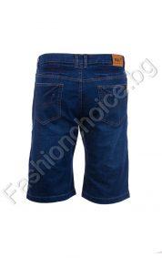 Мъжки дънкови макси панталони в изчистен десен