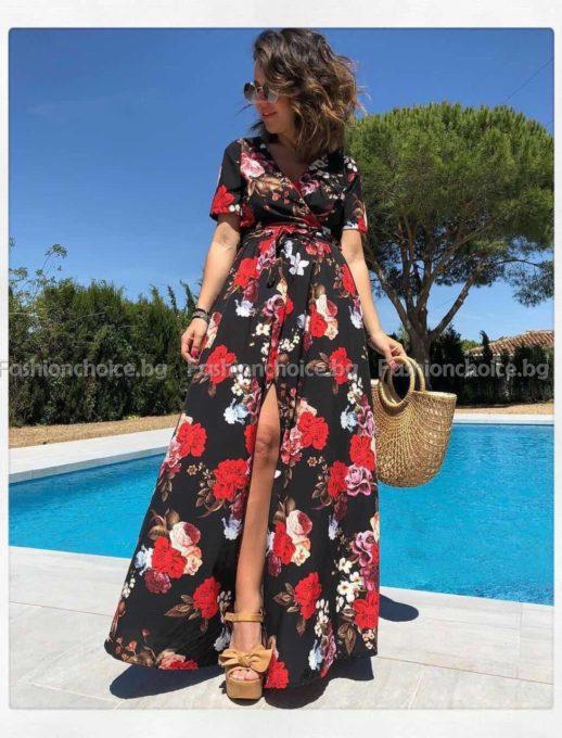 Неустоима рокля, дълъг модел с три свежи нюанса