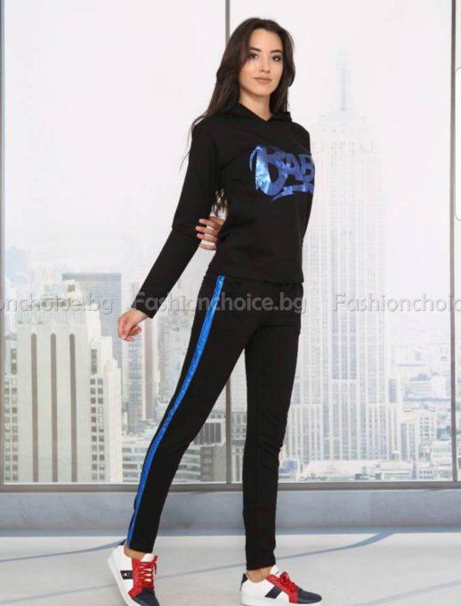 Уникален дамски спортен екип BABY с качулка