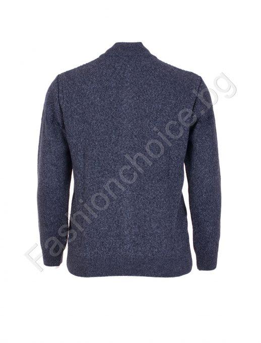 Великолепна мъжка макси жилетка от качествено плетиво