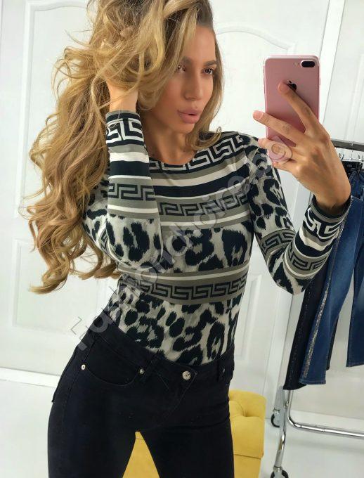 Уникално боди в моден леопардов принт
