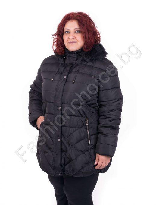 Зимно дамско яке в
