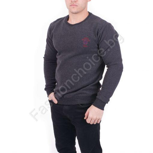 Мъжка блуза от плътна материя в четири цвята
