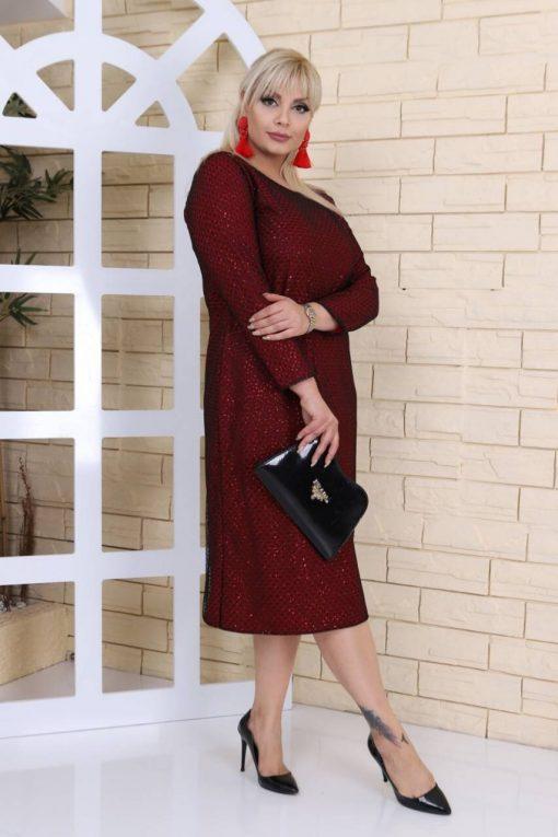 Чудесна официална макси рокля в два цвята/2XL,3XL,4XL/