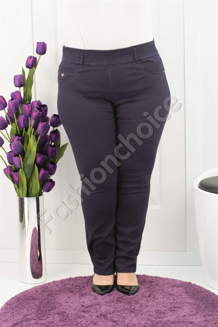 Практичен макси клин-панталон в три цвята /50-56/