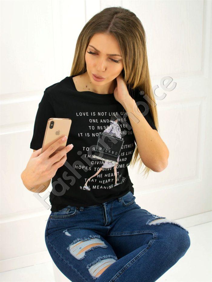 Дамска блузка MILANO- код 707-3014