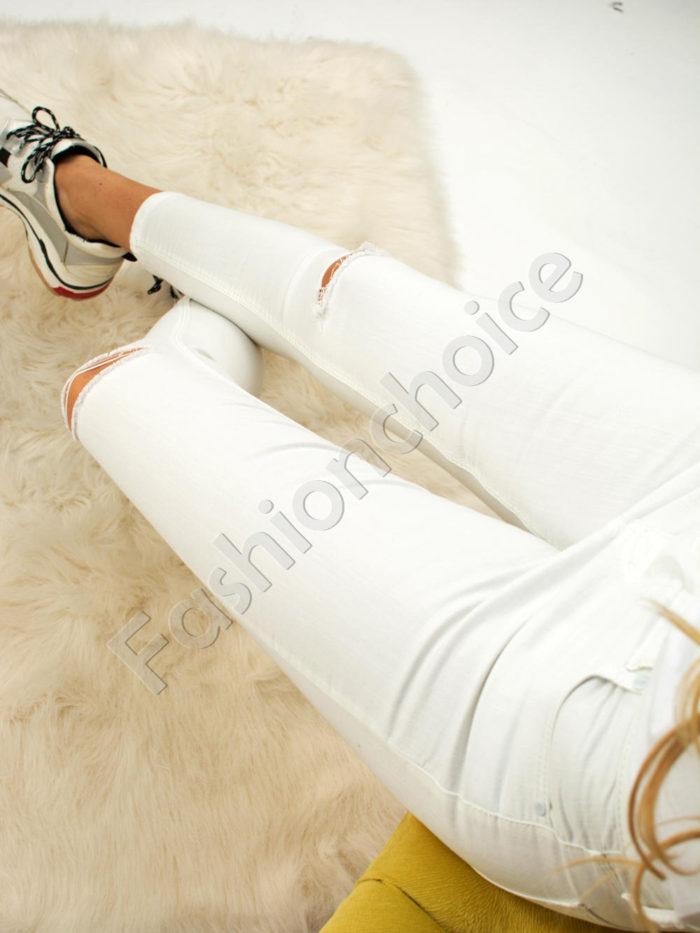 Дамски панталон с надран ефект- код 742-763