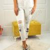 Дамски панталон с надран ефект- код 746-688