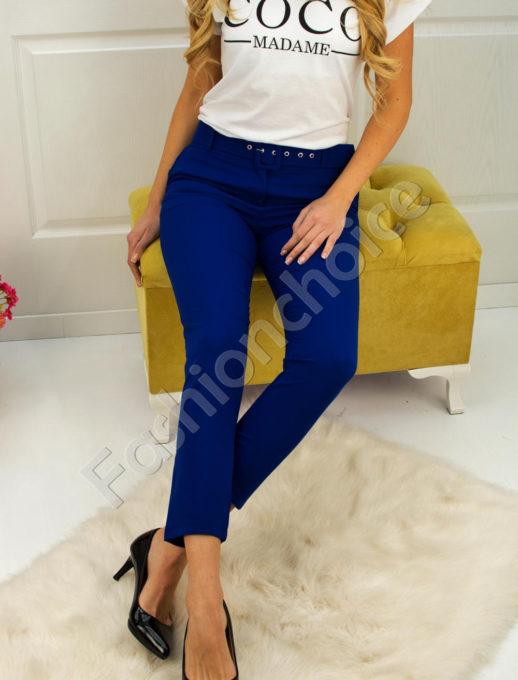 Дамски панталон с коланче- код 748-1