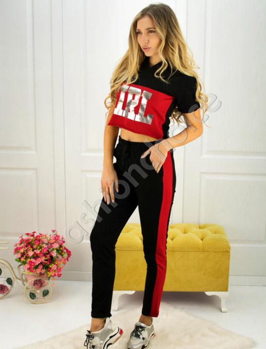 Дамски спортен екип GIRL с късо ръкавче- код 750