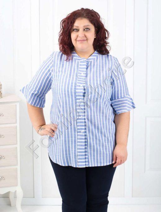 Симпатична макси риза на рае в два цвята/56-60/-код 510