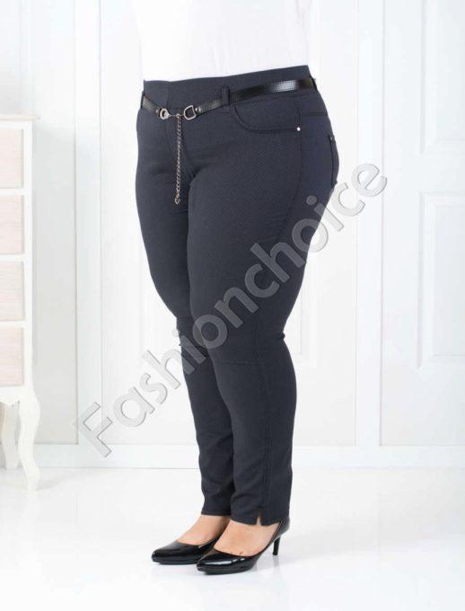 Дамски макси клин-панталон в тъмно сиво-код 752-1014