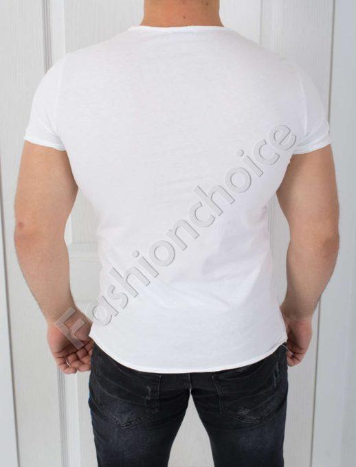 Свежа мъжка тениска с щампа ПОПАЙ-код 541-1