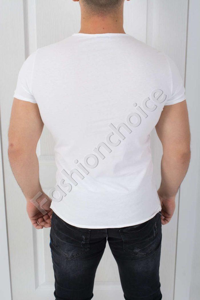 Свежа мъжка тениска с щампа МИКИ-код 541