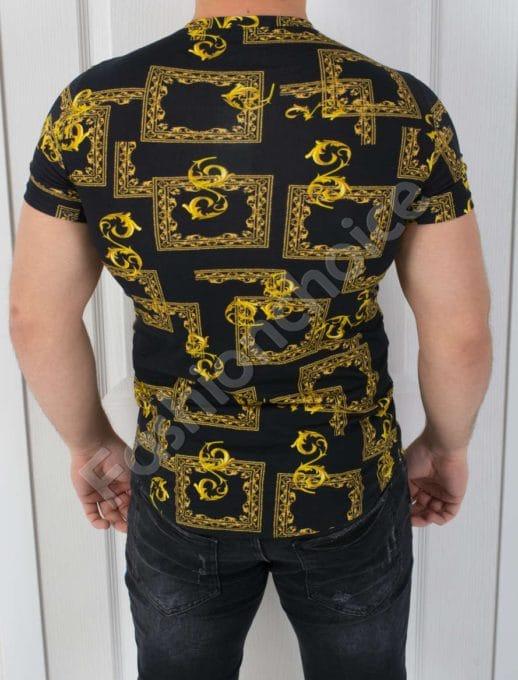 Мъжка тениска в актуален свеж десен-код 541-1331
