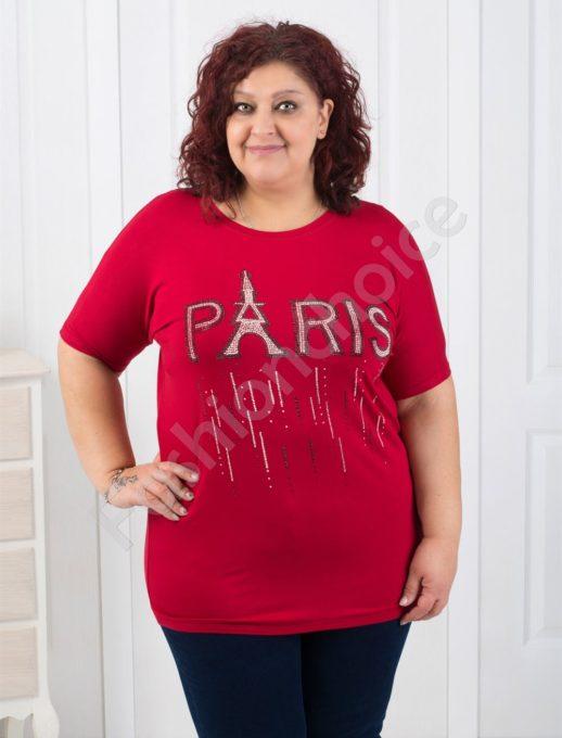 Елегантна макси блуза с модерна апликация/в шест цвята/-код 303-832
