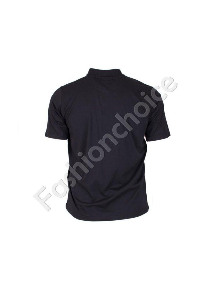 Мъжка макси блуза с якичка- код 731-7100