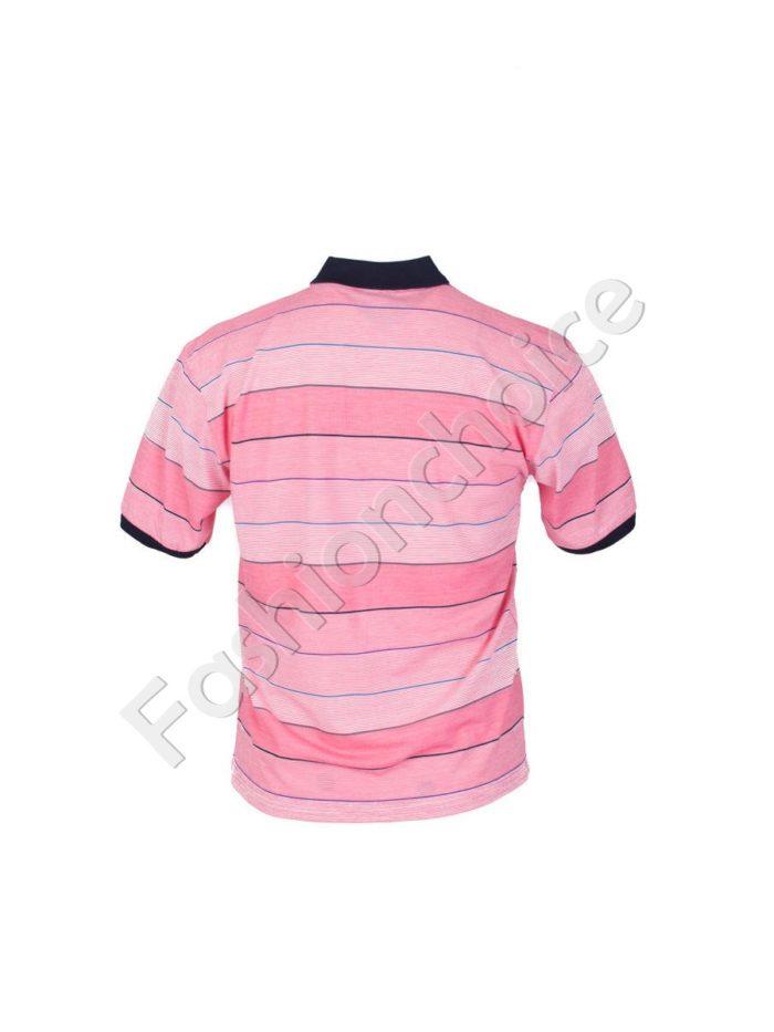 Мъжка макси блуза с якичка и копчета- код 734-8328