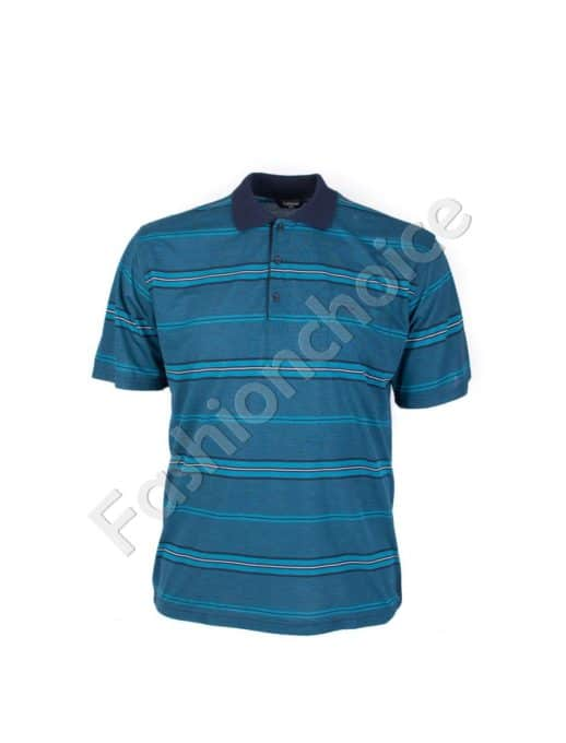 Мъжка блуза в модерен цвят/3XL,4XL,5XL,6XL/-код 735-9053