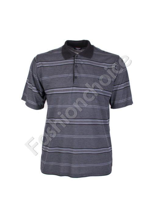Мъжка макси блуза в модерен десен-код 735-9053-1