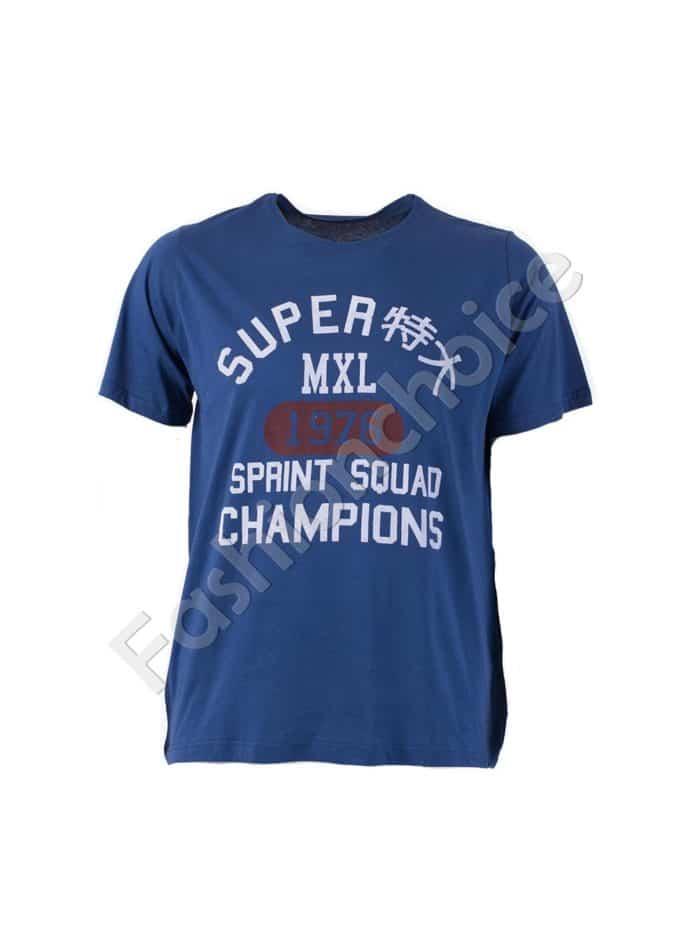 Мъжка тениска големи размери/3XL-10XL/код 767-19112-1