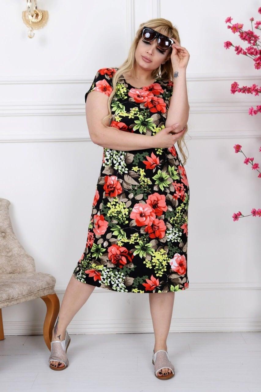 503ede66e0a Красива дамска рокля макси размери/2XL,3XL,4XL/-код 741-8 -