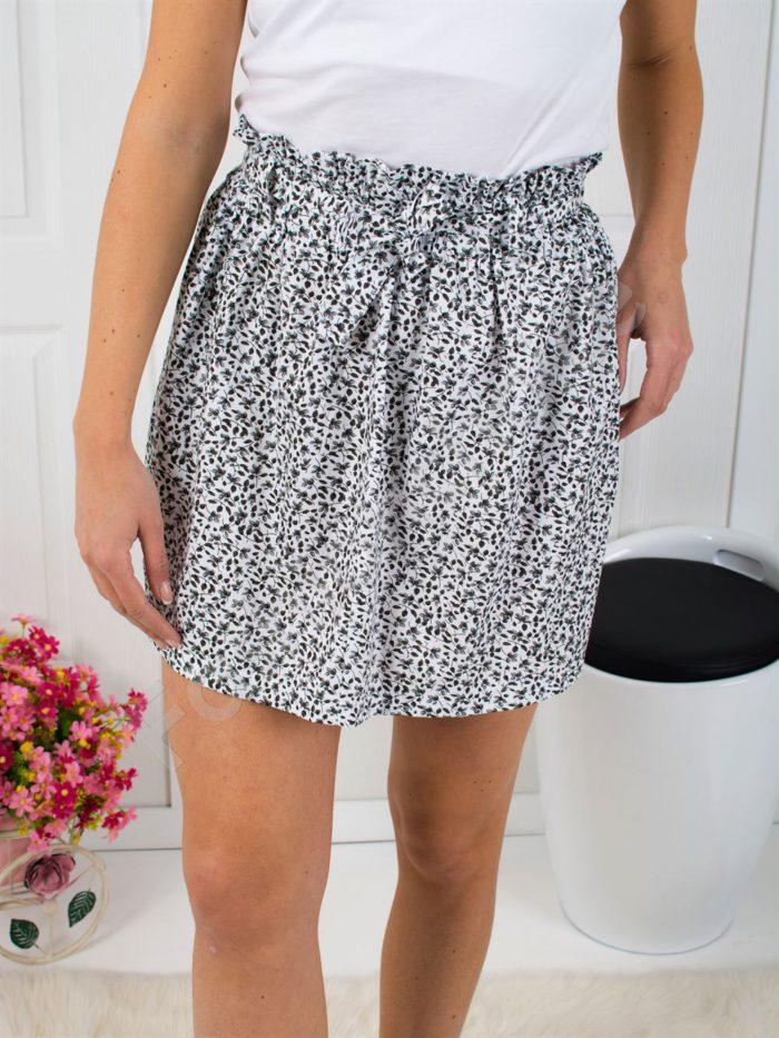 Сладка къса пола с десен на цветенца-код 806